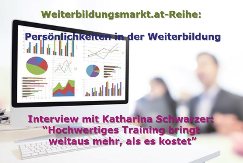 """Katharina Schwarzer: """"Hochwertiges Training bringt weitaus mehr, als es kostet"""""""