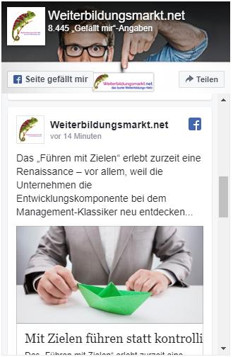 Weiterbildungsmarkt.net auf Facebook folgen