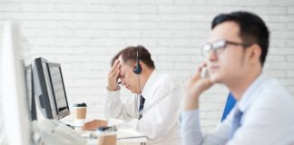 Stress und Sorgen am Arbeitsplatz