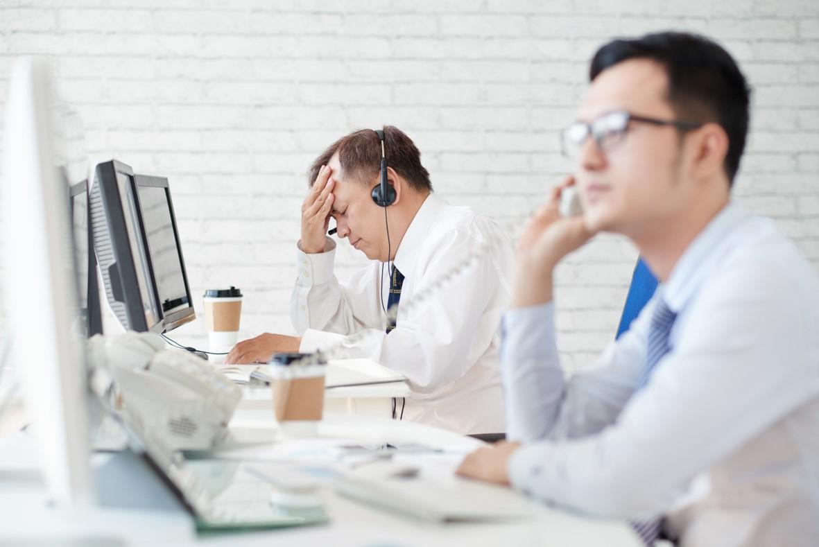 Stress und Sorgen am Arbeitsplatz: Kann CBD helfen?